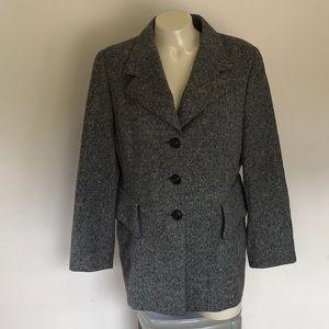 Gray Blazer with Pockets